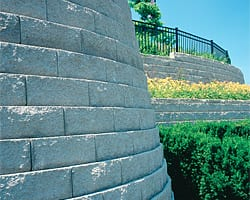 diamond pro paver and retainer wall dogwood landscaping GA