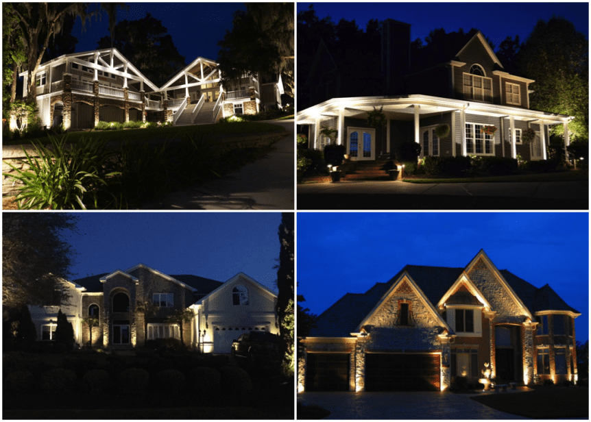 Downlighting Uplighting Landscape Lighting